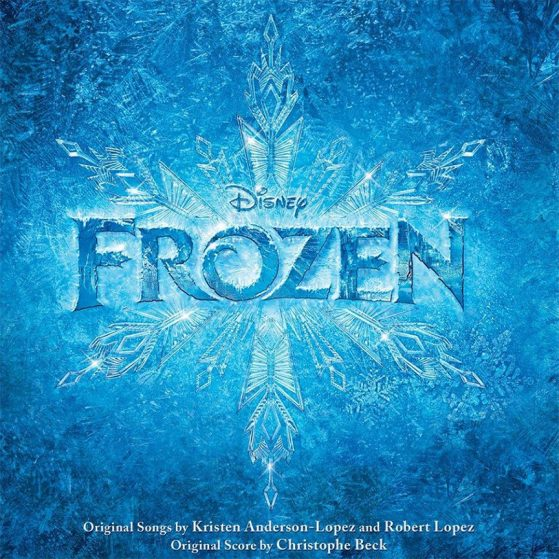 Frozen soundtrack album cover