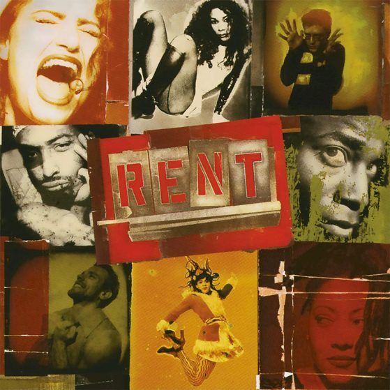 RENT Original Broadway Cast Recording album cover