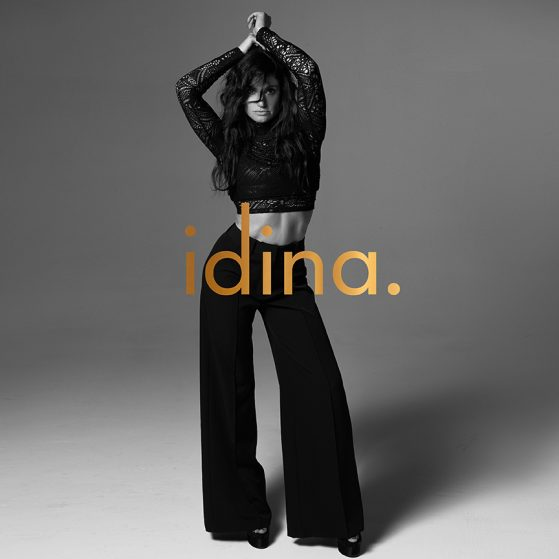 idina. album cover