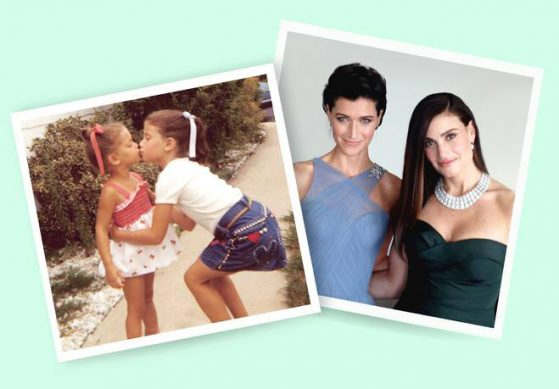 Photos of Idina Menzel and sister Cara Mentzel as children and adults