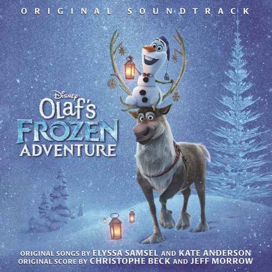 """Olaf's Frozen Adventure"" album cover"