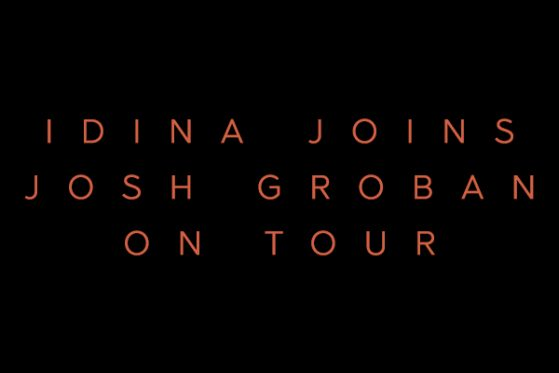 Idina Joins Josh Groban on Tour