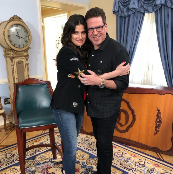 Idina with Michael Orland