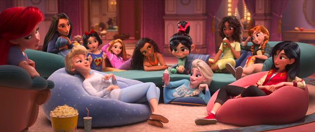 Photo of Disney Princesses from Wreck It Ralph 2