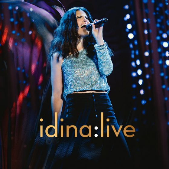 idina:live album cover
