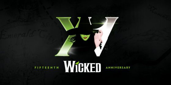Wicked 15th Anniversary Logo
