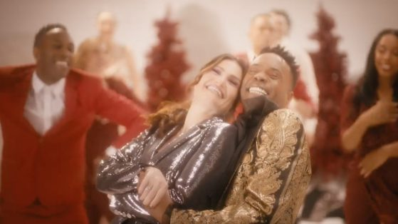 Idina Menzel & Billy Porter